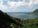 View of Opunohu Bay from 4x4 Excursion, Moorea