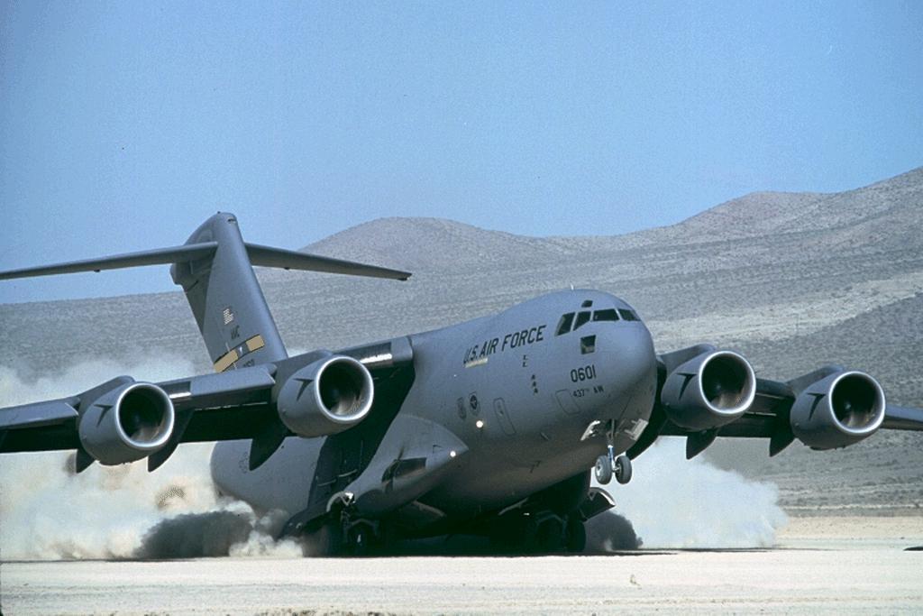 Sale of C-17 Globemaster III to India: US Congress notified