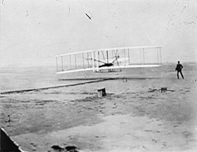 Wright Brothers' First Flight, December 17, 1903