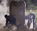 Ten Commandments Monument Removal