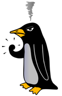 Angry Penguin, Source: Wikimedia