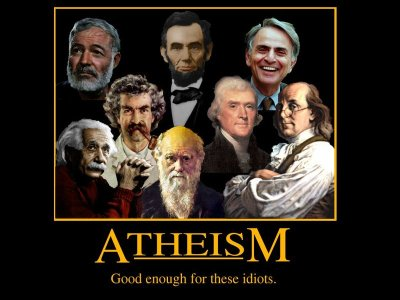 Misleading Atheism Poster
