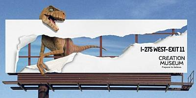 AiG Creation Museum Billboard