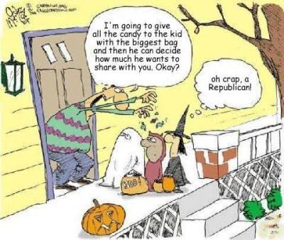 Halloween Comic - Republican Version