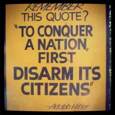 argumentative essay gun control hitler quote