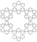 Koch Snowflake 1 Preview